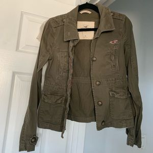 Hollister Jacket - Army Green